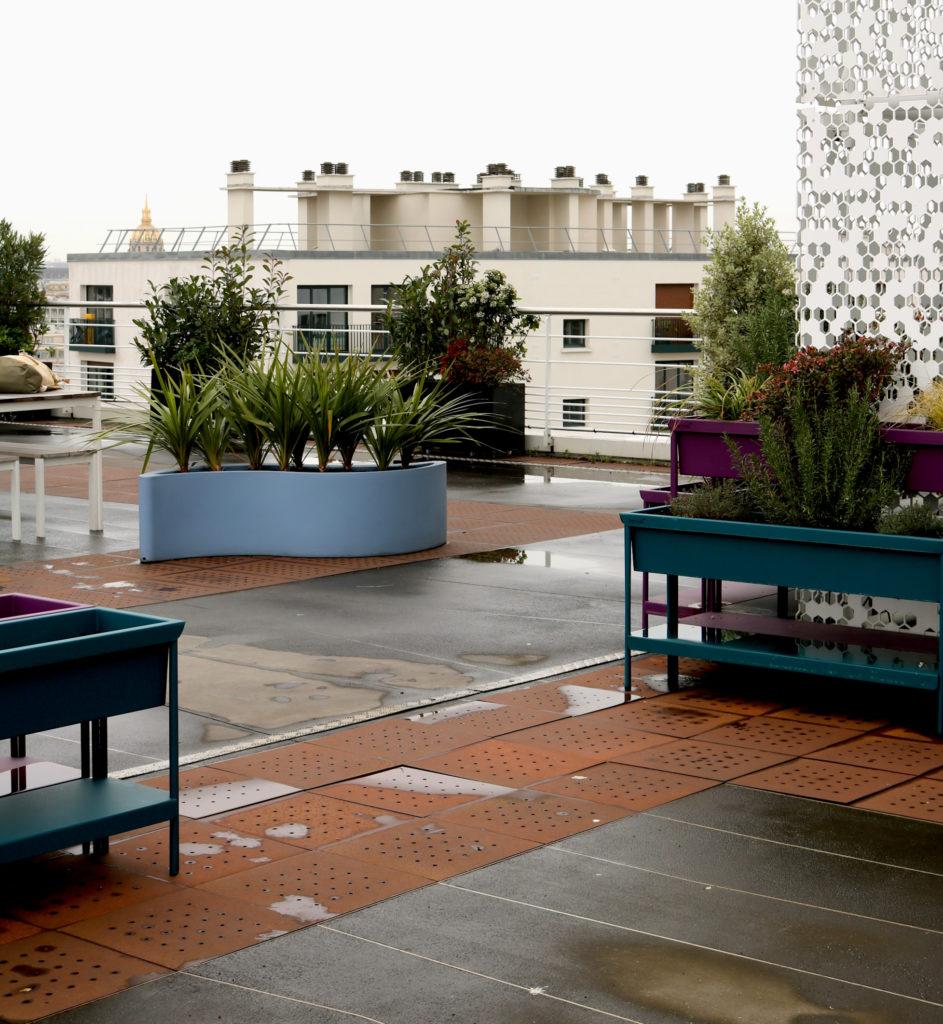 jardin terrasse ERAMET